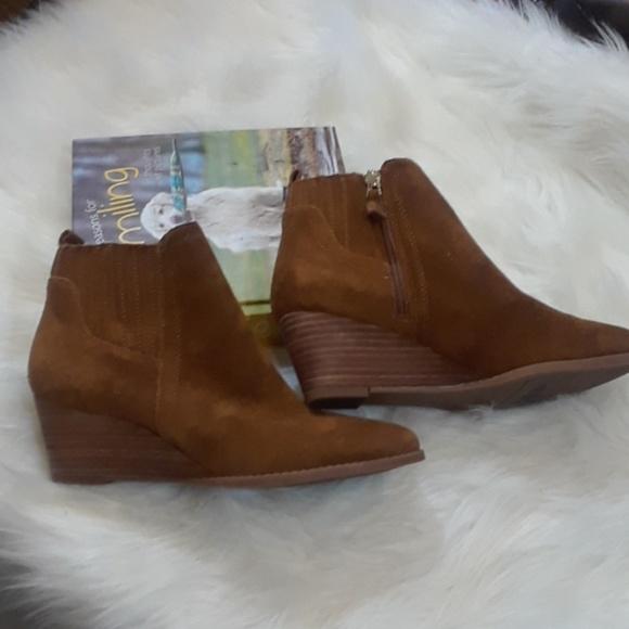 84e03c3db2d Franco Sarto Shoes - Franco Sarto Cognac Wayra Ankle Boots (7.5)